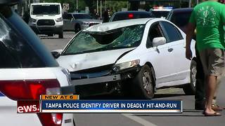 Video: Suspect and person of interest sought in fatal accident on Hillsborough Avenue - Video