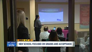 New school focused on grades and acceptance - Video