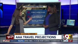 AAA's Jenifer Moore talks about Thanksgiving travel projections - Video