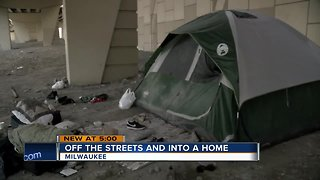 Milwaukee County moving homeless into homes - Video
