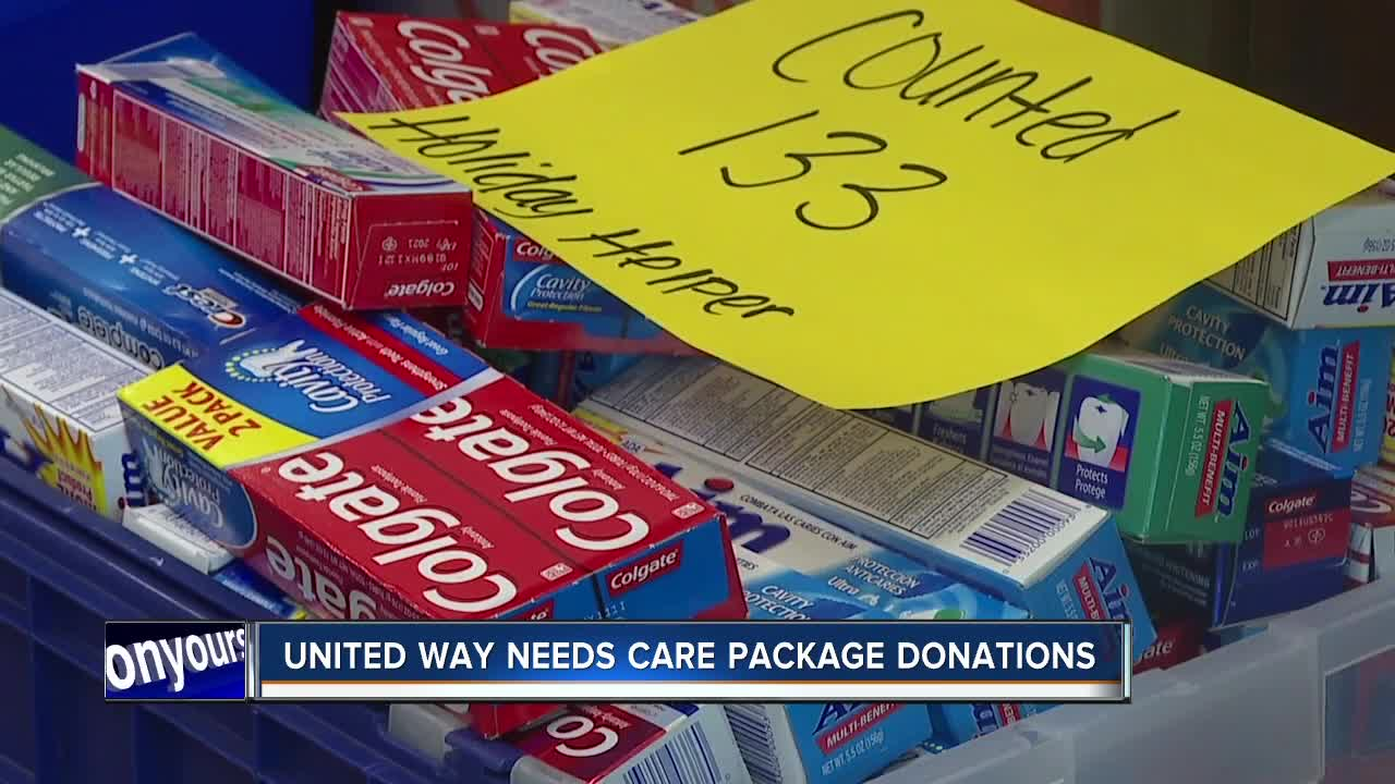 United Way of Treasure Valley needs donations to supply care packages for homeless students