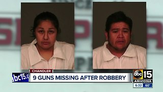 Guns stolen from Chandler Shoppers store after suspects drove through storefront