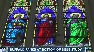 Buffalo ranks at bottom of bible study - Video
