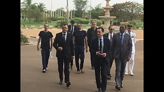 Hostages Freed by French Forces Meet Burkina Faso President