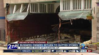 Historic Caplan's building gutted by flood again