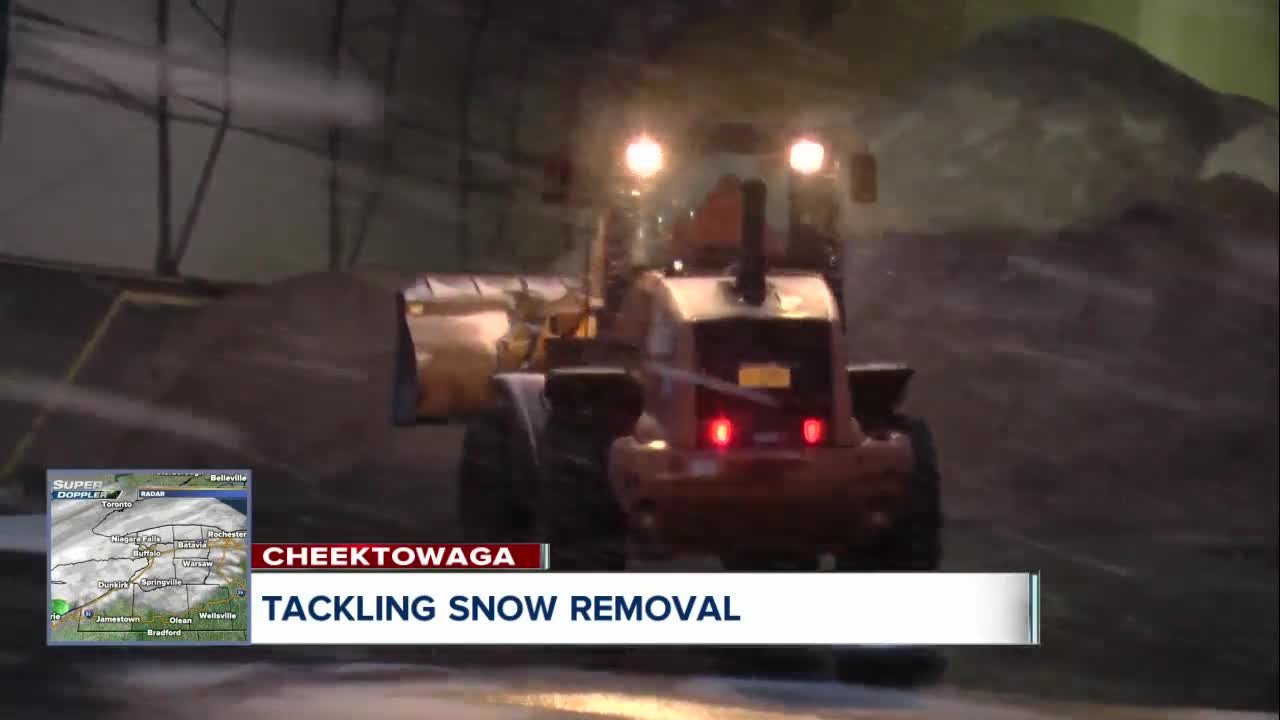 Towns tackle snow removal