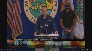 Mayor says Palm Beach County 'very lucky' after Isaias