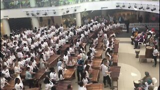 Marimba world record set in Cape Town (wpF)