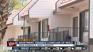 Apartment tenants complain of mold - Video