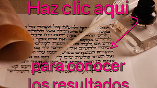 Quiz Viejo Testamento: Resultado Medio - Video