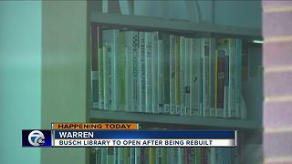 City of Warren getting new library
