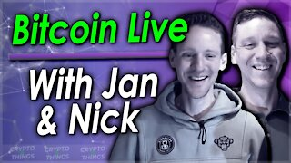 ▶️ All Things Crypto With Jan & Nick Dalmulder – Bitcoin Live   EP#401