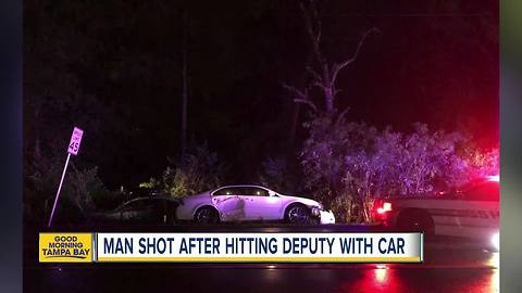Man shot by deputies after pursuit in Polk County