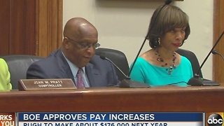 Baltimore Board of Estimates approves pay raises - Video