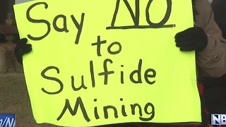 Mine protest - Video