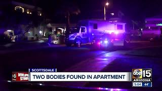 Investigation underway after two found dead in Scottsdale apartment - Video