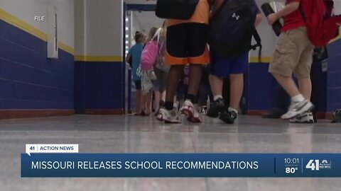 Missouri officials release guidance for school districts, parents for 2020-21 school year
