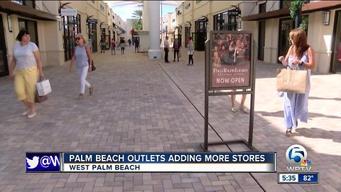 Palm Beach Outlets adding more stores