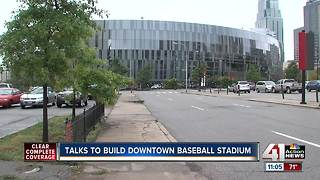 Preliminary talks to move Royals into a downtown stadium - Video