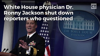 Doctor Has 3 Words for Reporters Questioning Trump Health - Video