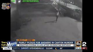 Family pleads for answers in Canton murder - Video