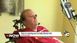 Time is running out to help Marine veteran