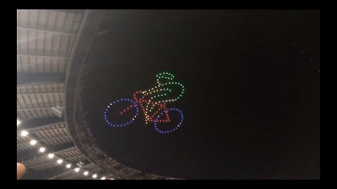 A spectacular drone show at the closing ceremonies of the 30th Sea Games in Phillipines.