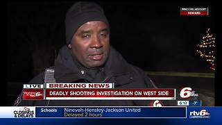 Man shot, killed on Indy's west side - Video