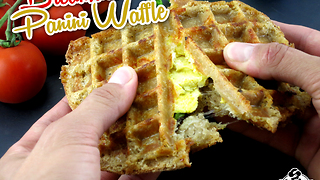 Breakfast panini waffles - Video