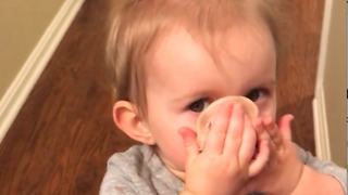 Little Girl Discovers Meat Is The Facial Treatment We All Need - Video