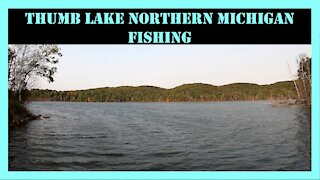 Thumb Lake Bass Fishing Northern Michigan