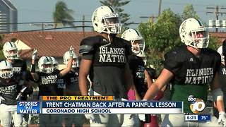 Pro Treatment: Coronado High's Chatman back after painful lesson - Video