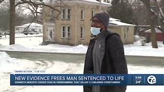 Detroit man wrongfully-convicted of double murder released today