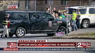 Suspect killed in Mannford officer-involved shooting - Video