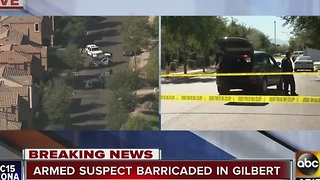 Barricade situation in Gilbert puts two schools on lockdown - Video