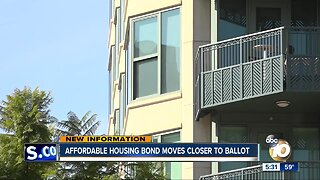 Affordable housing bond moves closer to ballot