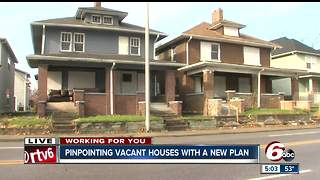 Group plans to pinpoint vacant Indianapolis homes with map - Video