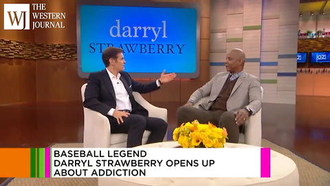 Former MLB Slugger Darryl Strawberry Reveals How His Wife Saved Him After Drugs Ended His Career