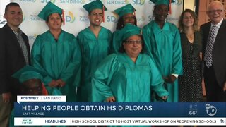 Helping people obtain HS diplomas