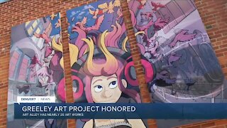 Greeley Art Alley wins Governor's award