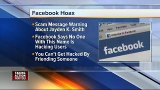 Message about Jayden K. Smith is Facebook hoax - Video