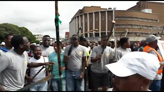 SOUTH AFRICA - Durban - Human rights day march (Video) (CwT)