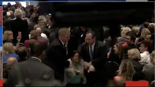 Remember That Time Rashida Tlaib Was Dragged From Trump Rally?