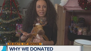 Rebecca on 13 Days of Giving - Video