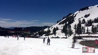 VIDEO: Celebrate 4th of July on in California with skiing? - Video