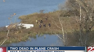Two dead after plane crash in NW Fresno - Video