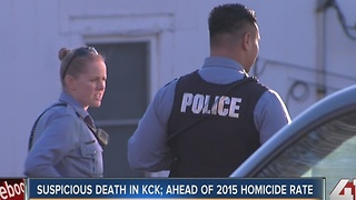 KCK police investigating suspicious death - Video