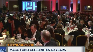 MACC Fund celebrates 40th anniversary - Video