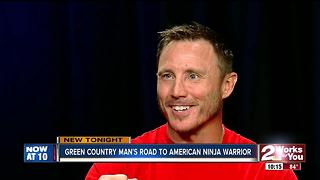 Green Country contestant on American Ninja Warrior - Video