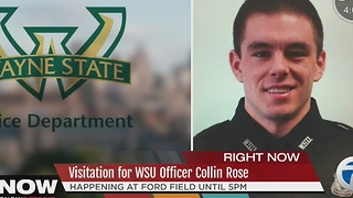 Visitation for Officer Collin Rose - Video